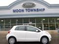 Polar White 2009 Toyota Yaris 5 Door Liftback