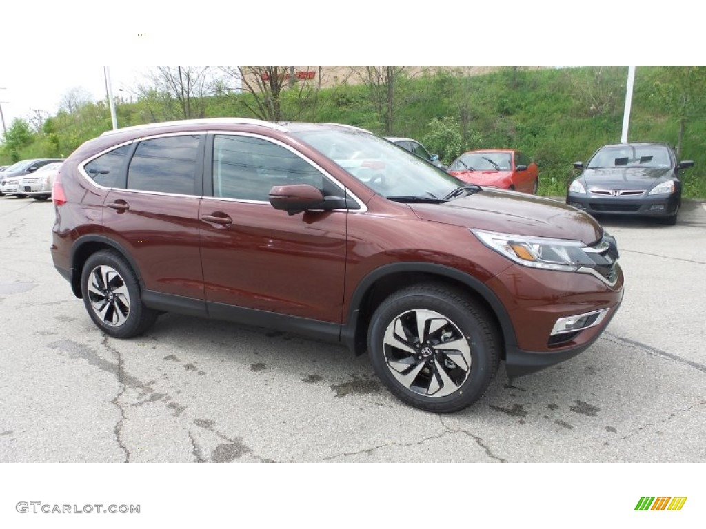 2015 CR-V Touring AWD - Copper Sunset Pearl / Black photo #1