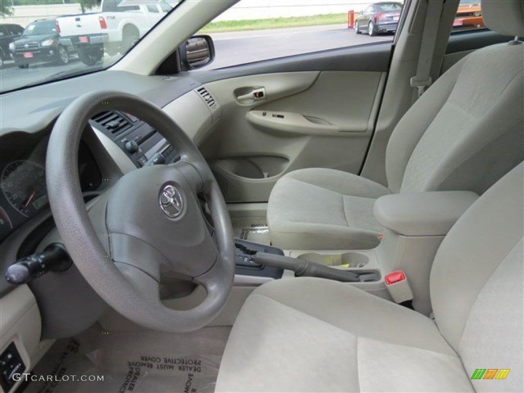 2009 Toyota Corolla Le Interior Color Photos
