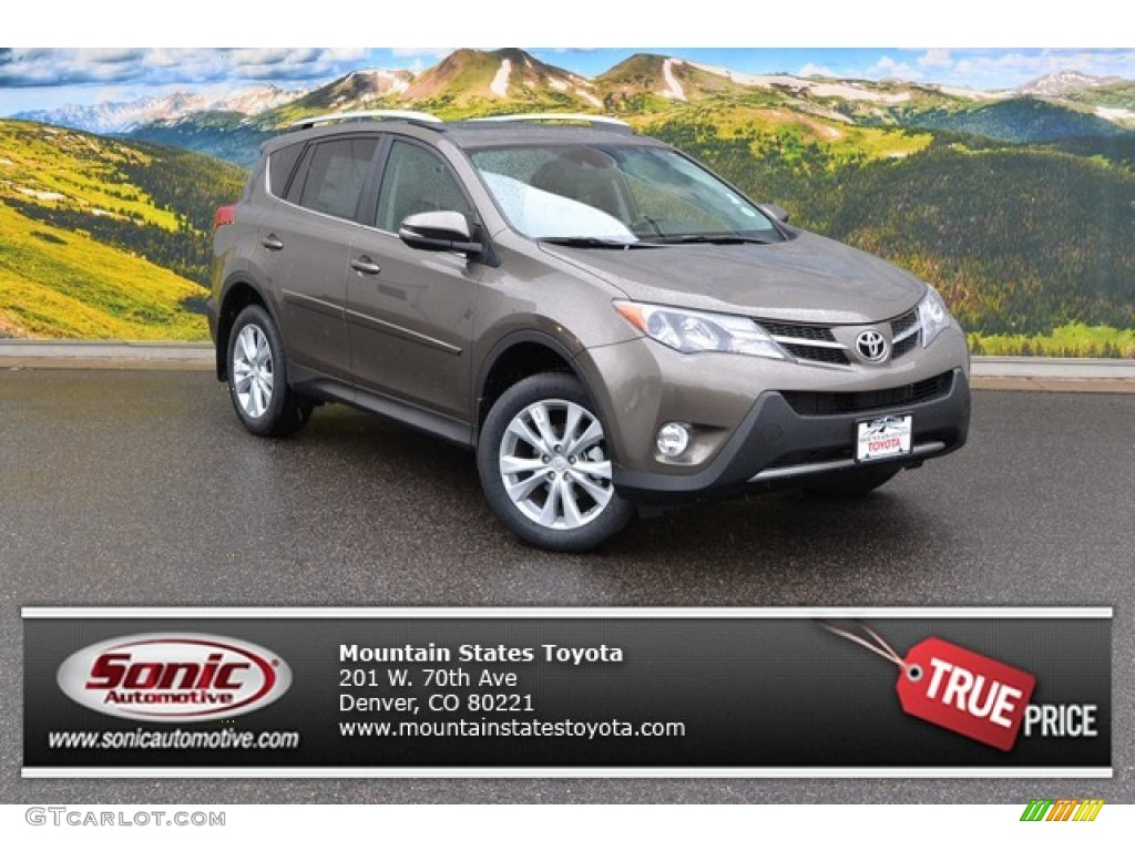 2015 pyrite mica toyota rav4 limited awd 103716351 car color galleries. Black Bedroom Furniture Sets. Home Design Ideas