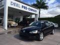 Black 2012 Volkswagen Jetta TDI Sedan
