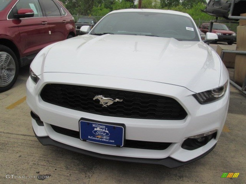 2015 oxford white ford mustang ecoboost premium coupe 103716440 photo 3 car. Black Bedroom Furniture Sets. Home Design Ideas