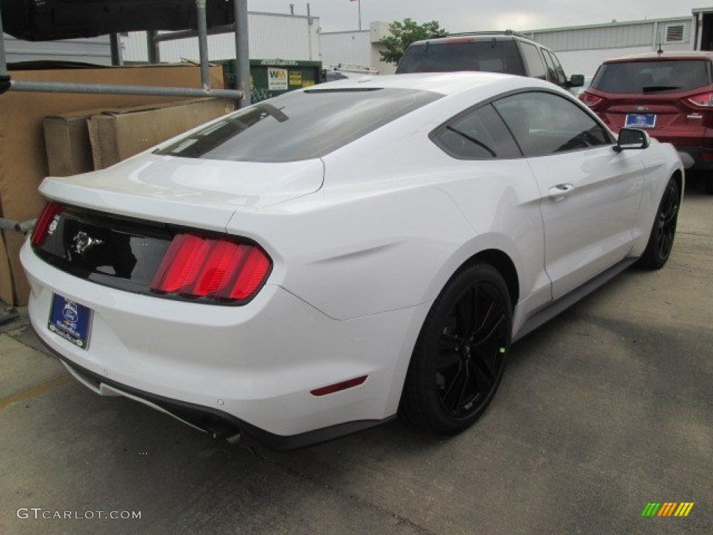 2015 oxford white ford mustang ecoboost premium coupe 103716440 photo 8 car. Black Bedroom Furniture Sets. Home Design Ideas