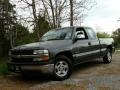 2002 Medium Charcoal Gray Metallic Chevrolet Silverado 1500 LS Extended Cab #103716756