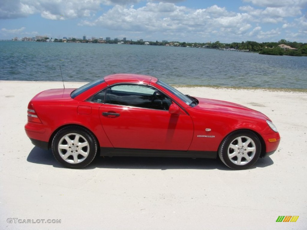 magma red 1999 mercedes benz slk 230 kompressor roadster. Black Bedroom Furniture Sets. Home Design Ideas