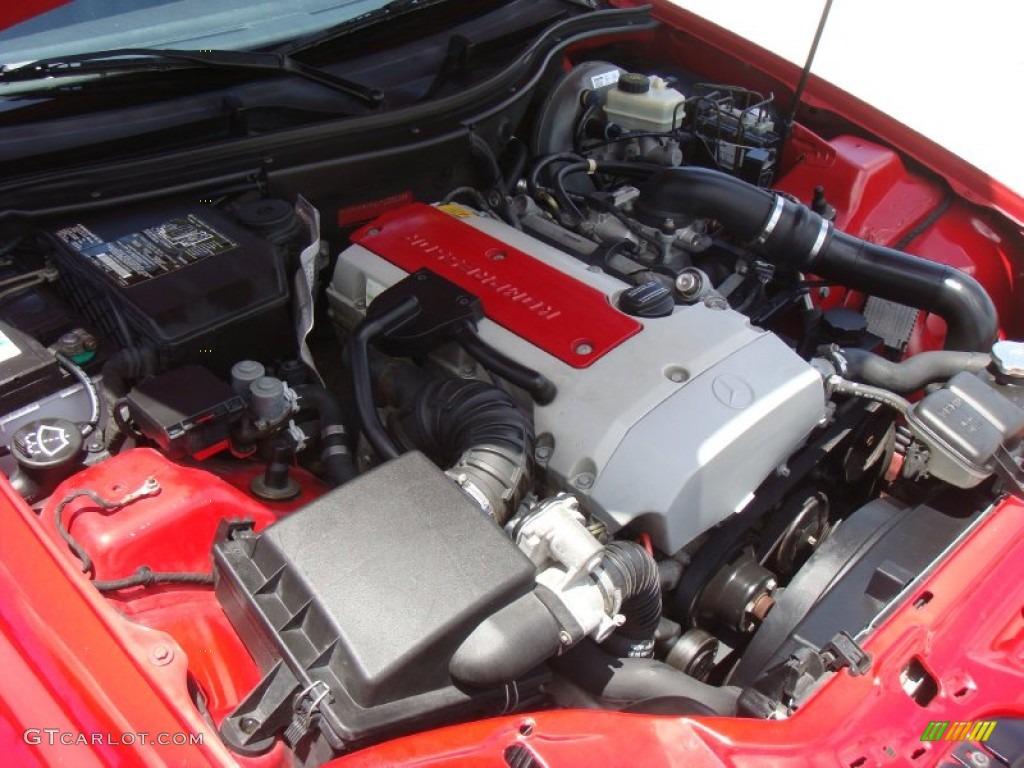 1999 mercedes benz slk 230 kompressor roadster engine for Mercedes benz slk 230 kompressor 1999