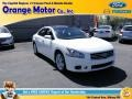 Winter Frost White 2011 Nissan Maxima 3.5 S