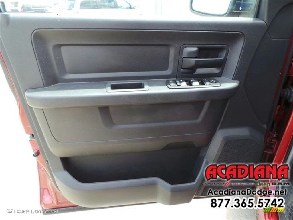2012 Ram 1500 ST Quad Cab - Deep Molten Red Pearl / Dark Slate Gray/Medium Graystone photo #17