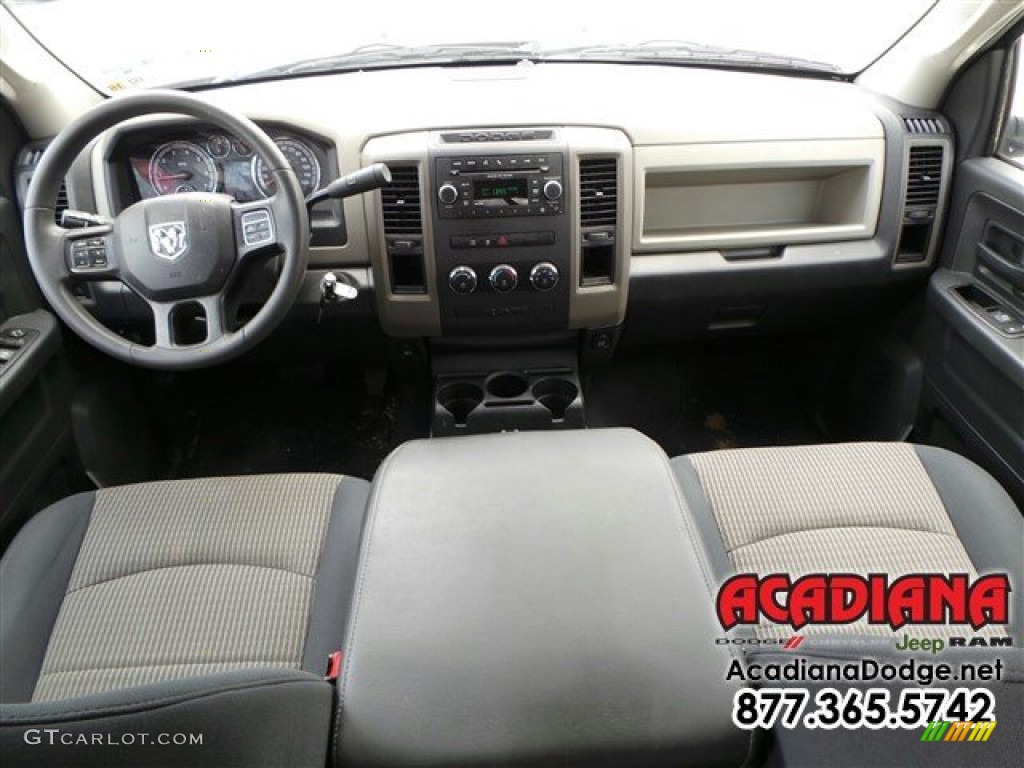 2012 Ram 1500 ST Quad Cab - Deep Molten Red Pearl / Dark Slate Gray/Medium Graystone photo #22