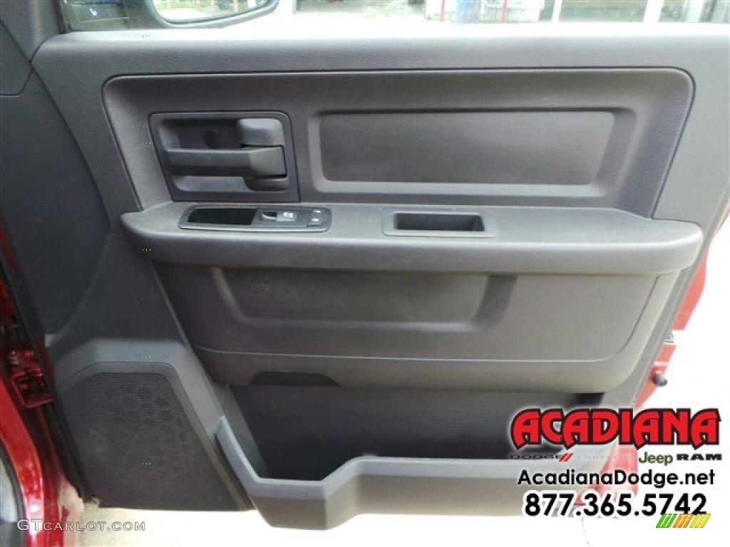 2012 Ram 1500 ST Quad Cab - Deep Molten Red Pearl / Dark Slate Gray/Medium Graystone photo #24