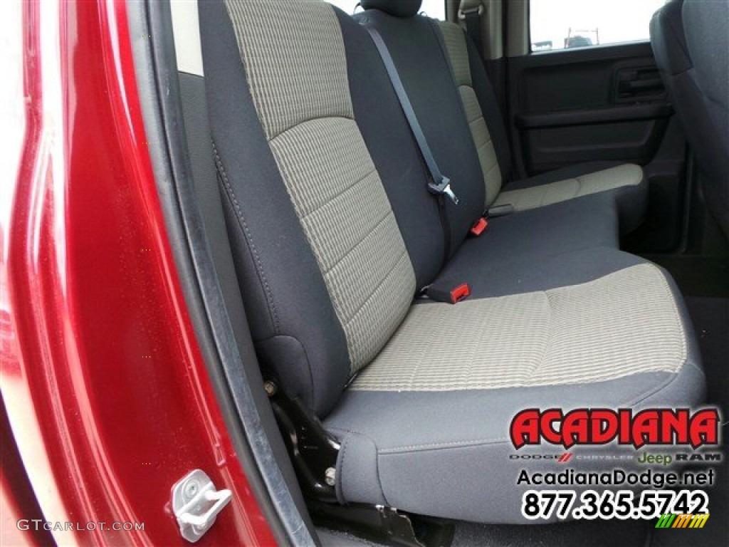 2012 Ram 1500 ST Quad Cab - Deep Molten Red Pearl / Dark Slate Gray/Medium Graystone photo #25