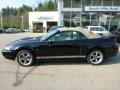2002 Black Ford Mustang GT Convertible  photo #2