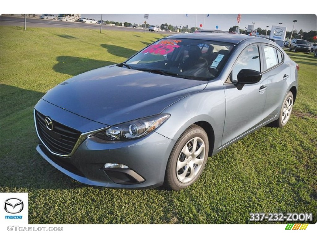 2015 blue reflex mica mazda mazda3 i sv 4 door 103748790 car color galleries. Black Bedroom Furniture Sets. Home Design Ideas