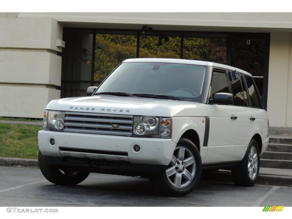 Chawton White Land Rover Range Rover