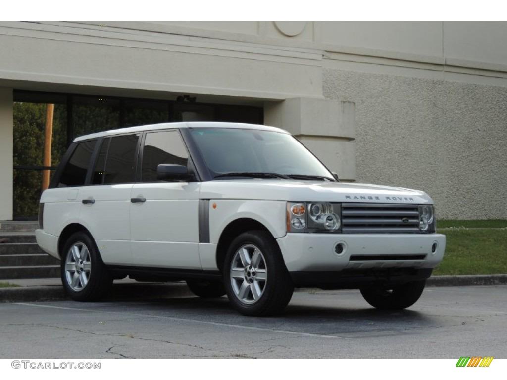 2005 Range Rover HSE - Chawton White / Ivory/Aspen photo #4
