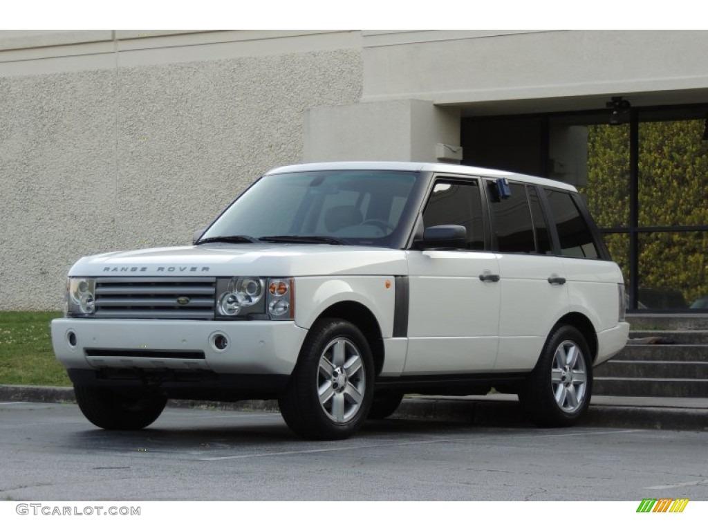 2005 Range Rover HSE - Chawton White / Ivory/Aspen photo #5