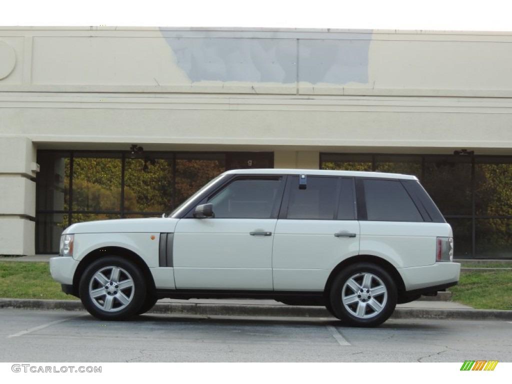 2005 Range Rover HSE - Chawton White / Ivory/Aspen photo #6