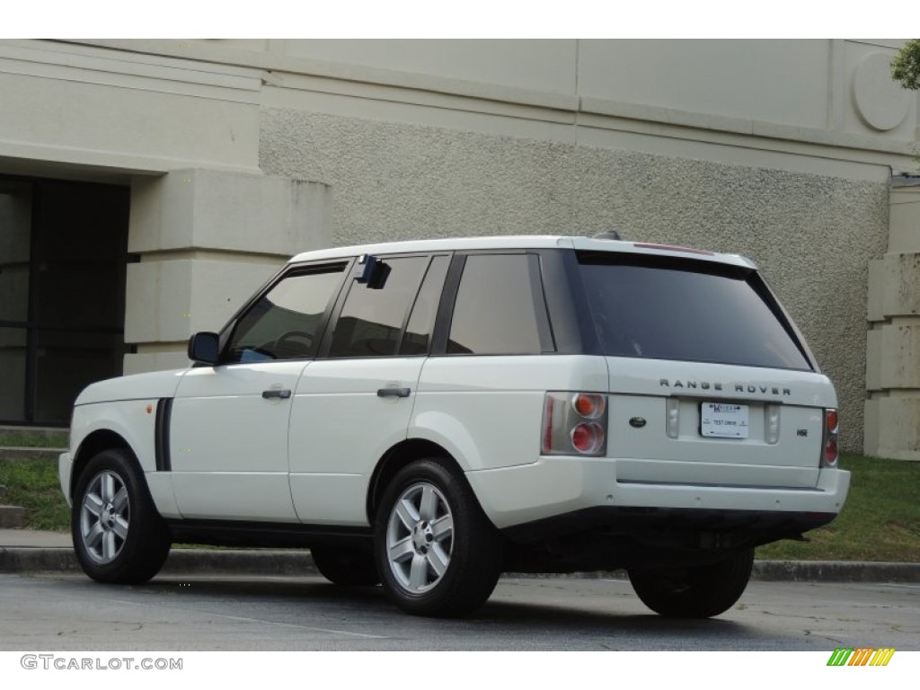 2005 Range Rover HSE - Chawton White / Ivory/Aspen photo #8