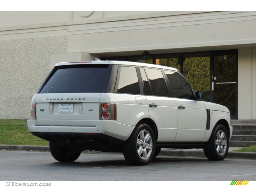 2005 Range Rover HSE - Chawton White / Ivory/Aspen photo #9