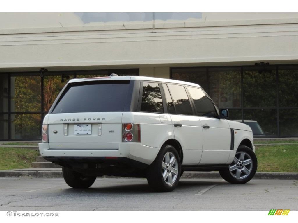 2005 Range Rover HSE - Chawton White / Ivory/Aspen photo #11