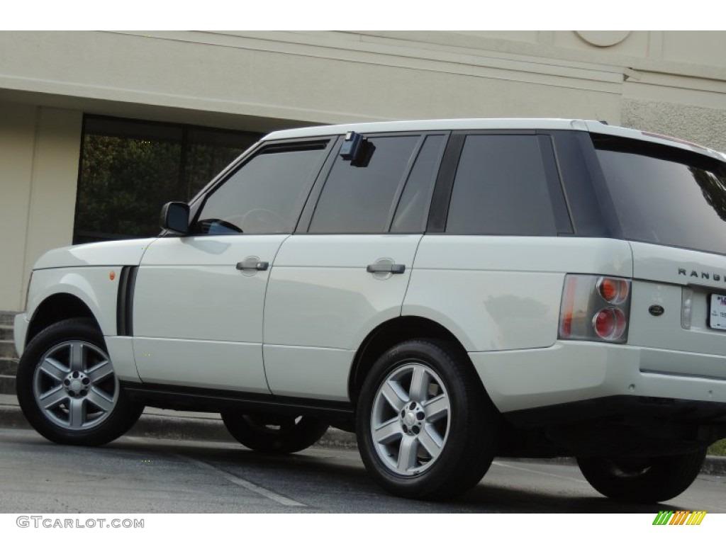 2005 Range Rover HSE - Chawton White / Ivory/Aspen photo #12