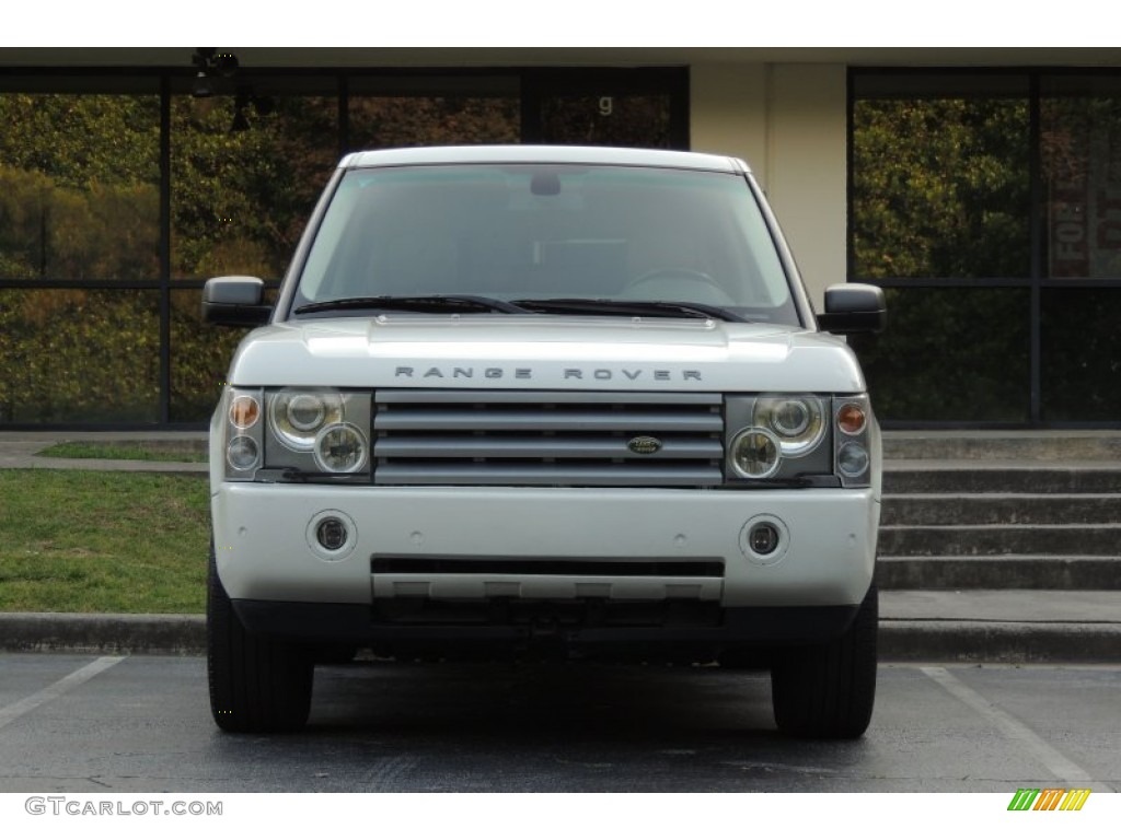 2005 Range Rover HSE - Chawton White / Ivory/Aspen photo #36