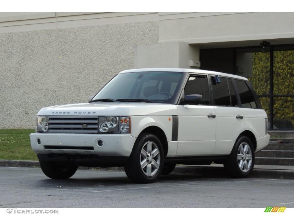 2005 Range Rover HSE - Chawton White / Ivory/Aspen photo #38