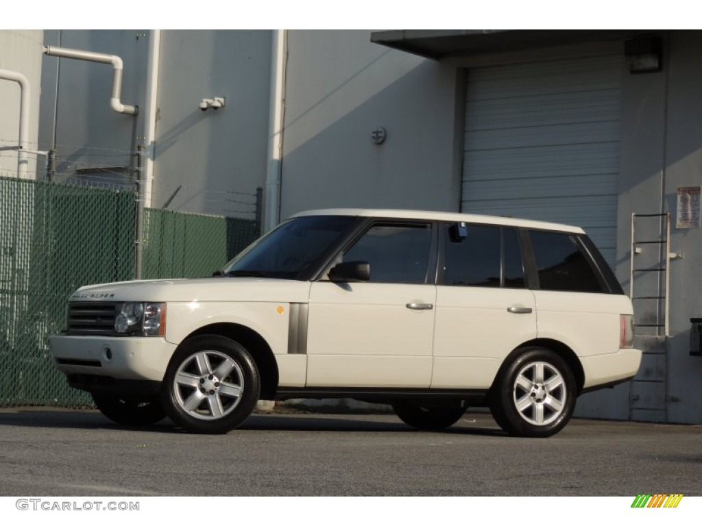2005 Range Rover HSE - Chawton White / Ivory/Aspen photo #54