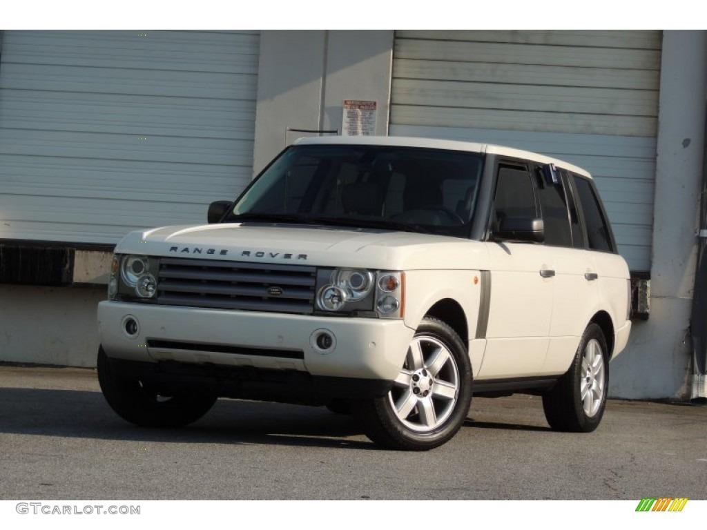 2005 Range Rover HSE - Chawton White / Ivory/Aspen photo #55