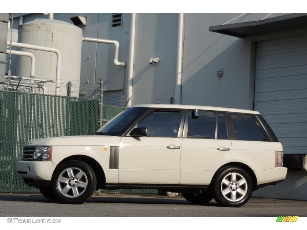 2005 Range Rover HSE - Chawton White / Ivory/Aspen photo #56