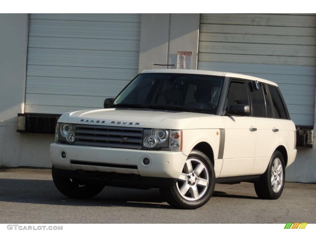 2005 Range Rover HSE - Chawton White / Ivory/Aspen photo #57