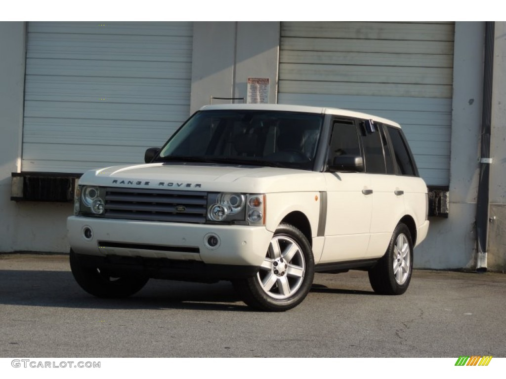 2005 Range Rover HSE - Chawton White / Ivory/Aspen photo #58