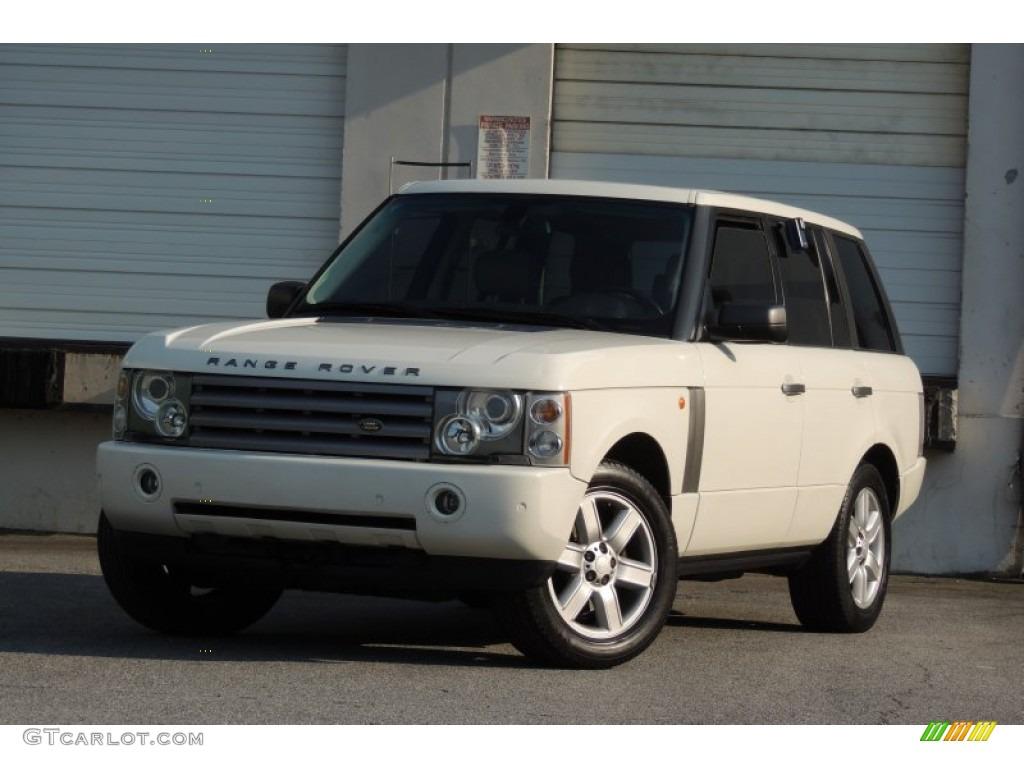2005 Range Rover HSE - Chawton White / Ivory/Aspen photo #60