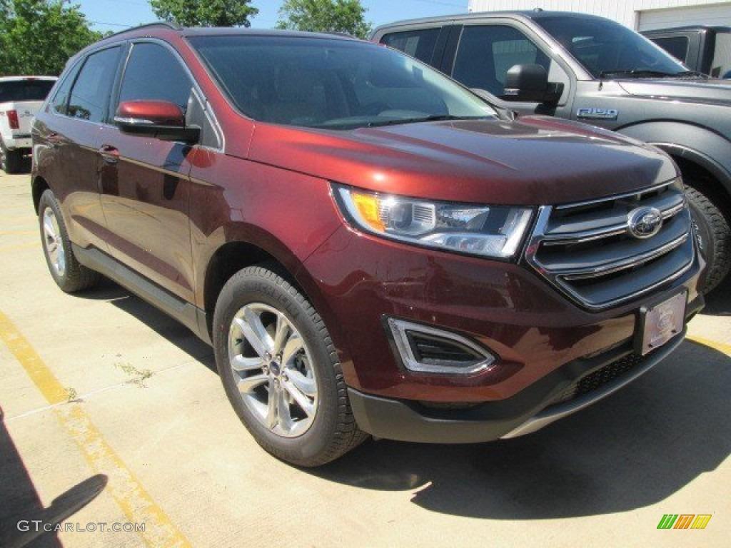 2015 Bronze Fire Metallic Ford Edge Sel 103748513 Photo