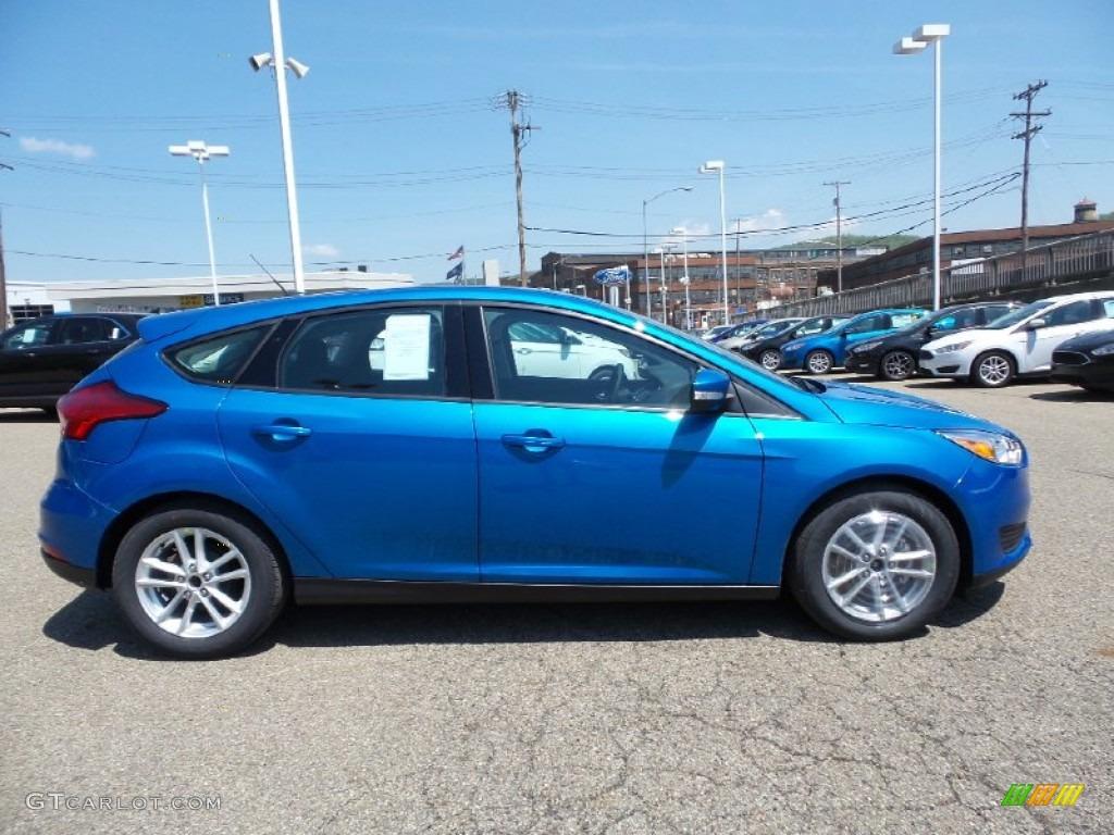 2015 blue candy metallic ford focus se hatchback 103784178 car color galleries. Black Bedroom Furniture Sets. Home Design Ideas