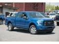 Blue Flame Metallic 2015 Ford F150 Gallery