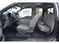 Medium Earth Gray Interior Photo for 2015 Ford F150 #103791286
