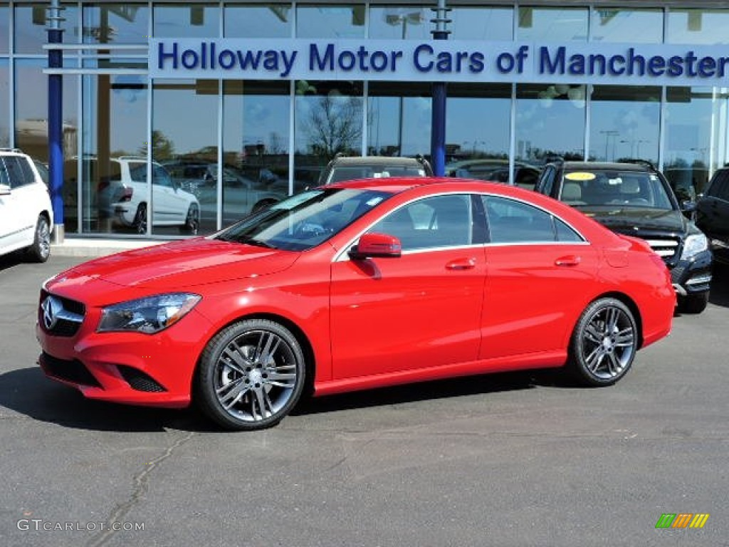 Cla  Red Paint Color