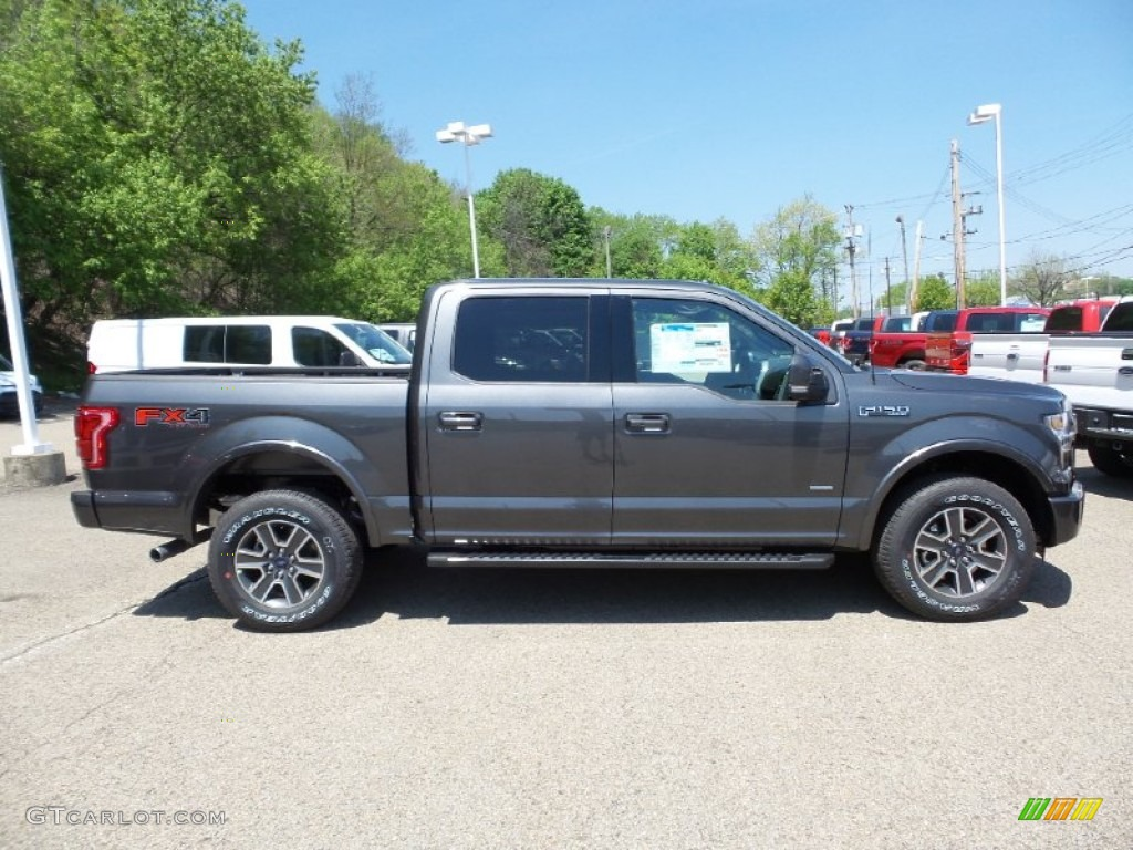 2015 Magnetic Metallic Ford F150 Lariat SuperCrew 4x4 103784183