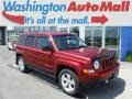 Deep Cherry Red Crystal Pearl 2013 Jeep Patriot Sport