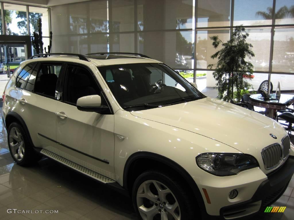 Alpine White BMW X5