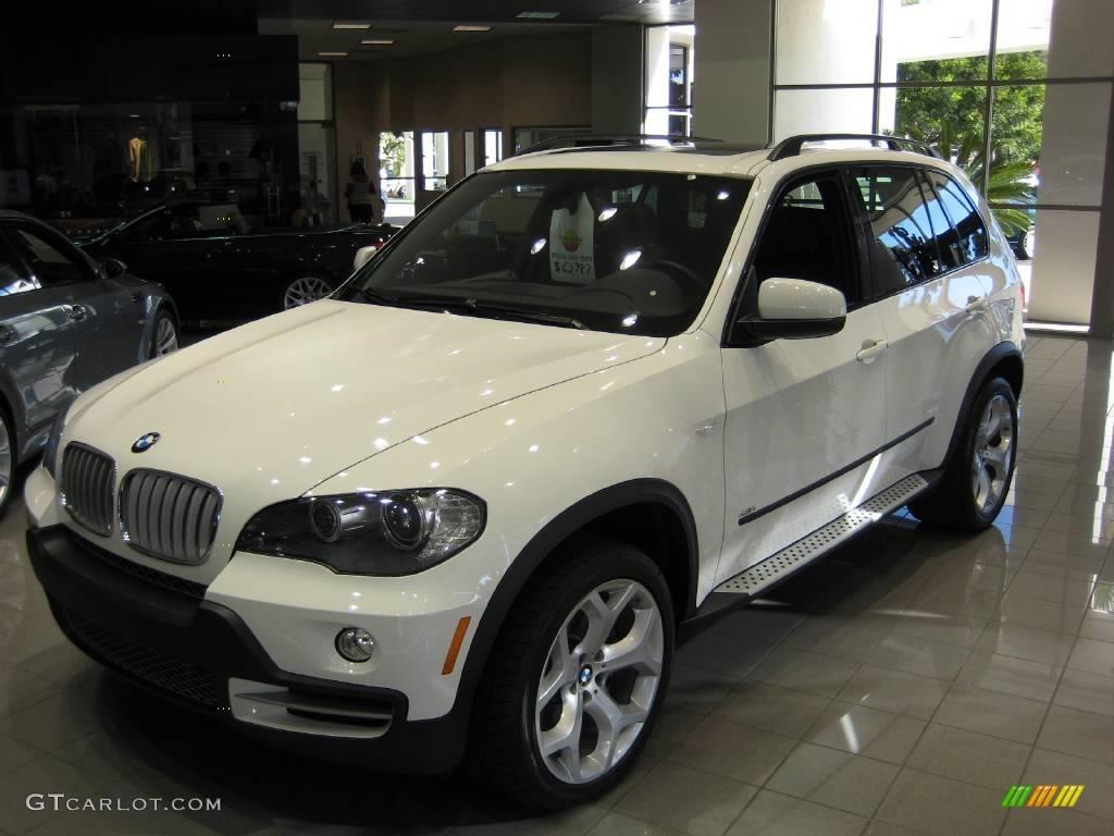 2008 Alpine White BMW X5 48i 1016882 Photo 3