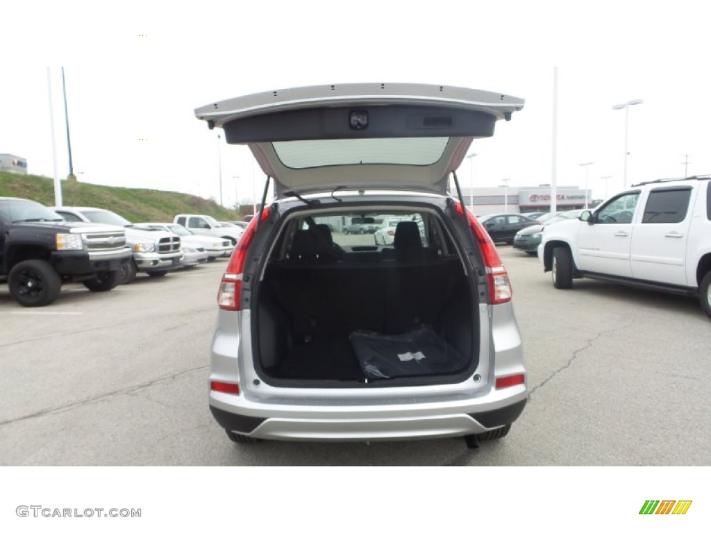 2015 CR-V EX AWD - Alabaster Silver Metallic / Black photo #10
