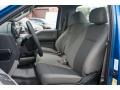 Medium Earth Gray Front Seat Photo for 2015 Ford F150 #103870240