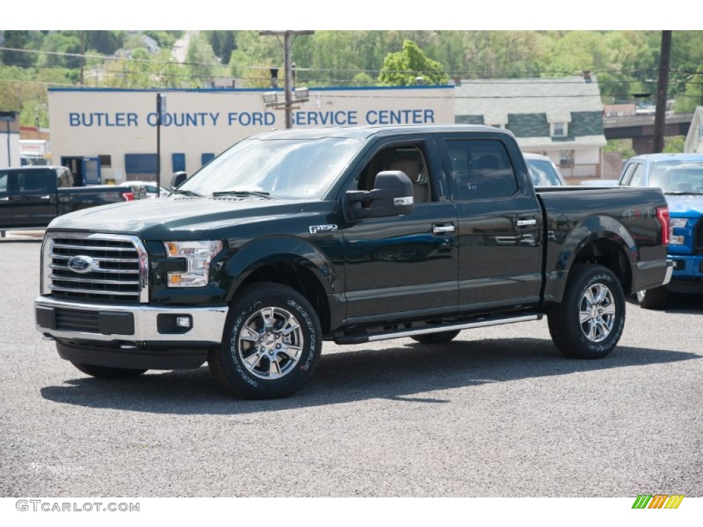 2015 Ford F 150 Green 200 Interior And Exterior Images