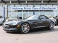 Obsidian Black Metallic 2012 Mercedes-Benz SLS AMG Roadster