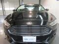 2013 Tuxedo Black Metallic Ford Fusion Titanium AWD  photo #3