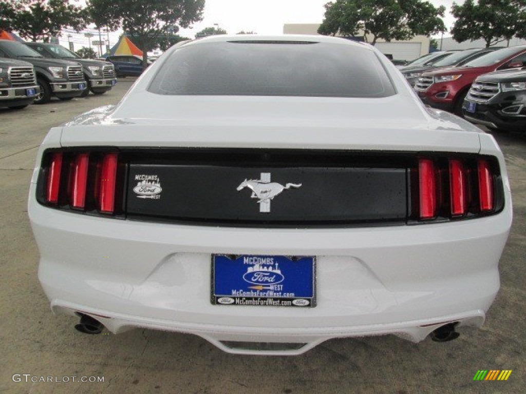 2015 Mustang V6 Coupe - Oxford White / Ebony photo #15