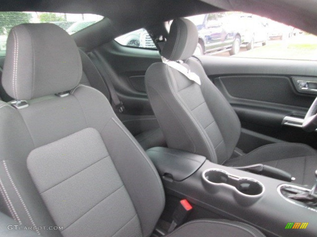 2015 Mustang V6 Coupe - Oxford White / Ebony photo #20