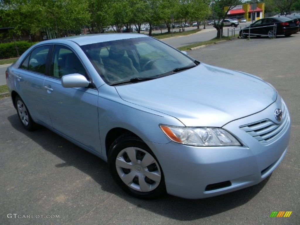 Sky Blue Pearl 2007 Toyota Camry Le Exterior Photo